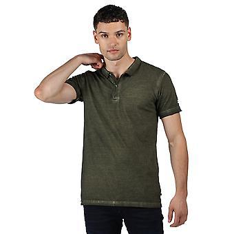 Regatta Mens Taiden Biologische Katoen Vintage Gewassen Polo Shirt