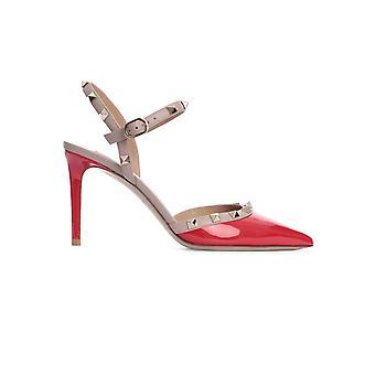 Valentino Garavani Tw2s0s98vnw95b Women's Red Patent Leather Sandals