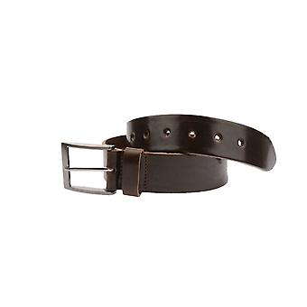 Brown Volnerf Leather Men's Belt