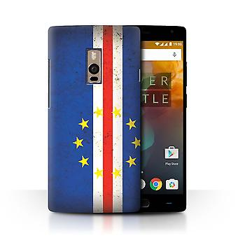 STUFF4 Case/Cover for OnePlus 2/Two/Cape Verde/African Flag