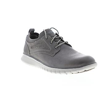 Mark Nason Neo Casual Keizer  Mens Gray Leather Low Top Sneakers Shoes