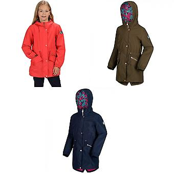 Regatta Girls Tamora Long Length Waterproof Jacket