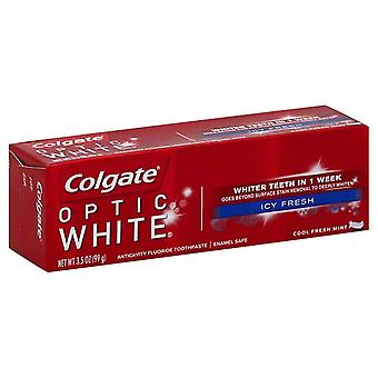 Colgate optic white anticavity toothpaste, cool fresh mint, 3.5 oz