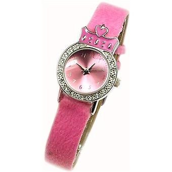 Spirit Princess Pink Furry Watch, Pendant Purse Girls Jewellery Gift Set AKG-02