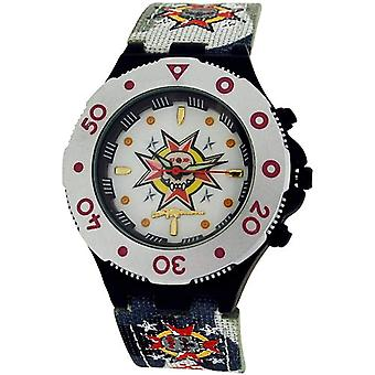 Call Of Duty Boy's Grey Cameo AK47 Icon Analogue Watch