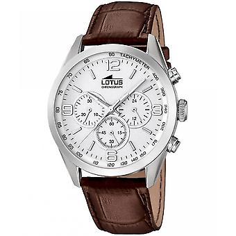 לוטוס שעונים גברים של Watch מינימליסטי הכרונוגרף 18155-1