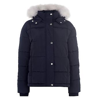 Golddigga Womens Jacket Clothing Long Sleeve Hooded Casual Warm Winter