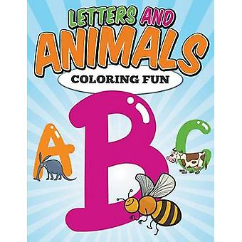 Letters and Animals Coloring Fun by Jacobs & Emily