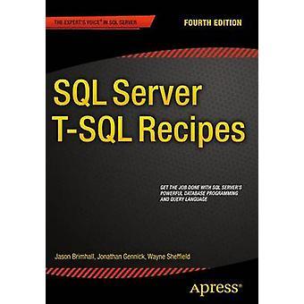 Receitas SQL Server T-SQL - 2015 (4ª edição revisada) por David Dye - J