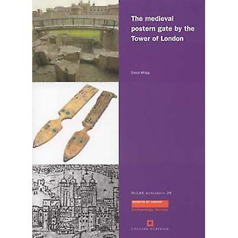 The Medieval Postern Gate by the Tower of London by David Whipp - 978