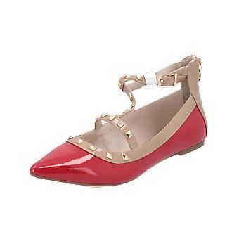 Tamaris Da.-Slipper Women's Ballerinas Red Slippers Espadrilles Loafer