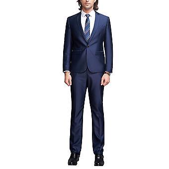 Allthemen Men's Tuxedo Suit 2-Pieces Wedding Slim Fit Business Suit Blazer&Pants