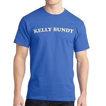 Married With Children Kelly Bundy Men's Royal Blue T-shirt