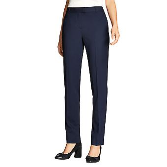 Brooks Brothers Women's Pantalones cónicos