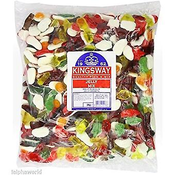 Kingsway Jelly Mix Sweet Jelly Gums 3kg