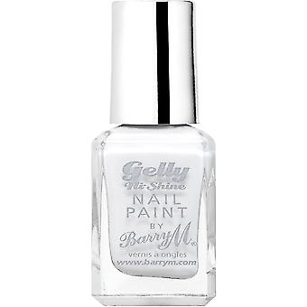 Barry M Gelly Hi Shine Nail Polish Collection - Cotton White (GNP35)