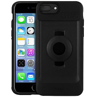 Fitclic Neo Case iPhone 6 /6S/7/8 Plus Magnetic and Mechanical-Tigra, Black