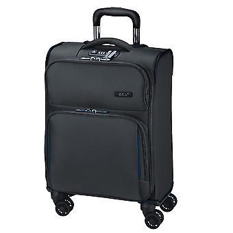 d&n Travel Line 7904 Handbagage Trolley S, 4 wielen, 54 cm, 32 L, Zwart