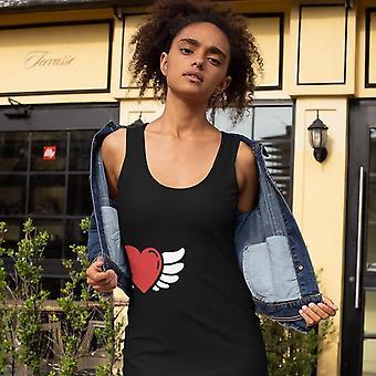 Sukienka slim fit | Anioł serca w czerni