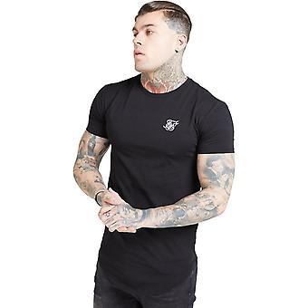 Sik Silk Core Gym T-Shirt Preto 35