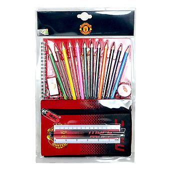 Manchester United FC Official Football Crest Ultimate Stationery Set