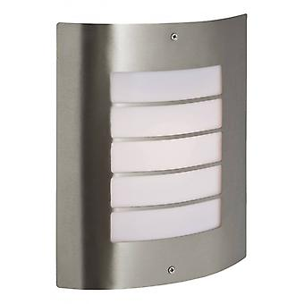 Prince Wall Lamp, Stainless Steel