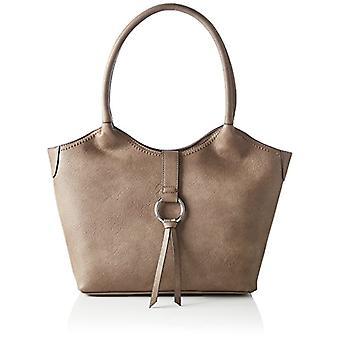 Tom Tailor Acc Elsa - Donna Grau shoulder bags (Taupe) 11x25x42cm (L x H D)