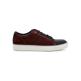 Lanvin - Shoes - Sneakers - FM-SKDBB1-VBAL-P15_391-GARNET - Men - maroon,black - UK 8