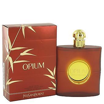 Opium Eau De Toilette Spray (New Packaging) By Yves Saint Laurent 3 oz Eau De Toilette Spray