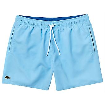 Lacoste Swim Shorts - Barbeau Blue/Navy