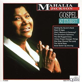 Mahalia Jackson - Gospel à ses meilleures importation USA [CD]