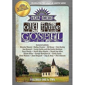 Country Family Reunion: Old Time Gospel 1-2 [DVD] USA import