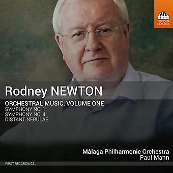 Newton / Mann - Orchestral Music 1 [CD] USA import