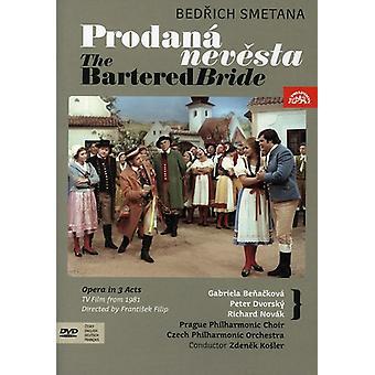 B. Smetana - Bartered Bride [DVD] USA import