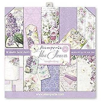 Stamperia Lilac 12x12 Inch Paper Pack