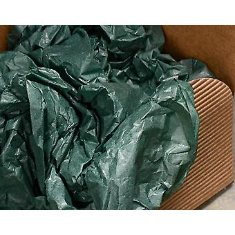 5 Sheets of Best Quality Bottle Green Tissue Paper   Gift Wrap Supplies