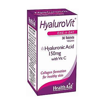 Hyalurovit (Hyaluronic Acid) 30 tablets of 150mg