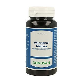 Valerian - Melissa 60 capsules