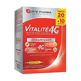 Vitality 4G Energizing 30 ampoules