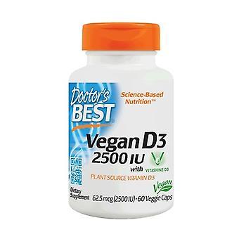Vegan D3, 2500 IE 60 groentecapsules