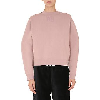 Alexander Wang.t 4cc1201157260 Women's Pink Cotton Sweatshirt