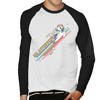 My Little Pony Be Awesome Men's Baseball Long Sleeves T-Shirt