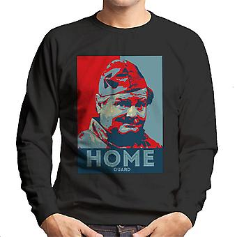 TV Zeiten Benny Hill Home Guard Herren Sweatshirt