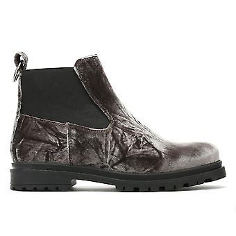 Shoe The Bear Akira Womens Dark Grey Velvet Boots