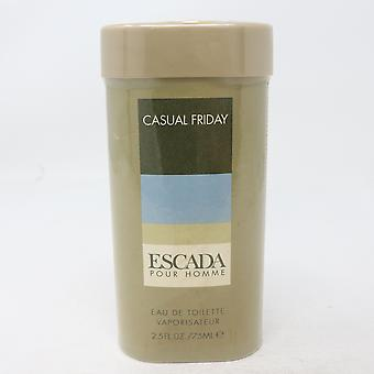 Casual Friday door Escada Eau de toilette 2.5 oz/75ml spray nieuw in doos