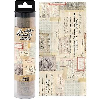 Advantus Tim Holtz Collage Paper Document (6yards) (TH93951)