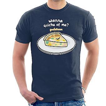 Gudetama wollen Quiche von mir Männer's T-Shirt