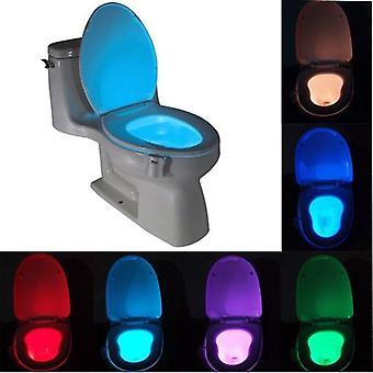Smart Badkamer Toilet Nightlight Led Body Motion geactiveerd aan / uit Stoel Sensor