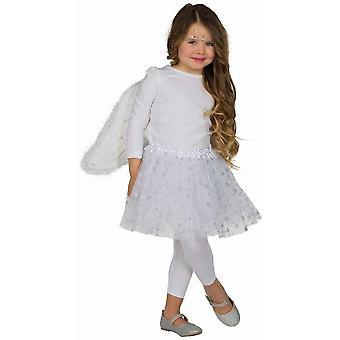 Angel Wings Set 2pcs. Children's Set Girls Carnival Consecrations Angel Tulle Skirt Wings