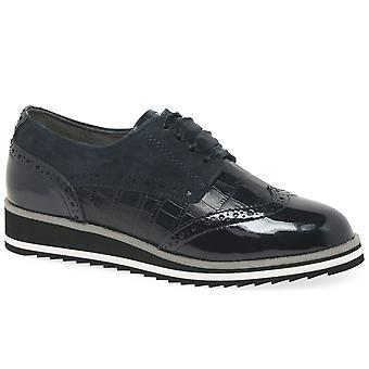 Caprice Jazmyn Womens Casual Brogue Shoes